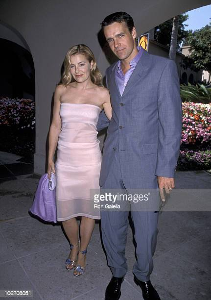 David James Elliott and Nanci Chambers during CBS Summer TCA Press Tour at RitzCarlton Hotel in Pasadena California United States