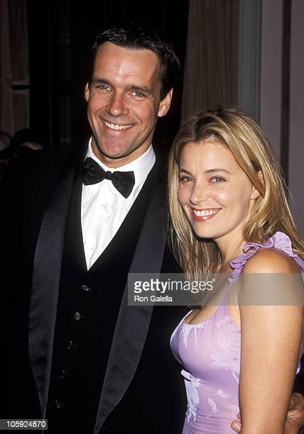 David James Elliott and Nanci Chambers during The IRTS Gold Medal Awards Honoring Sumner Redstone at Waldorf Astoria in New York City New York United...