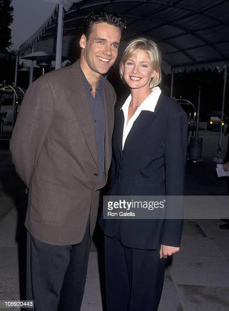 David James Elliott and Tracey Needham during NBC Winter Press Tour at Ritz Carlton Hotel in Pasadena California United States