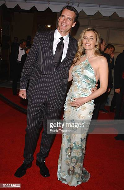 David James Elliott and wife Nanci Chambers at the 28th annual People's Choice Awards