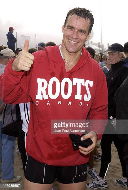 David James Elliott during 16th Annual Nautica Malibu Triathlon to Benefit the Elizabeth Glaser Pediatric AIDS Foundation at Zuma Beach in Malibu...