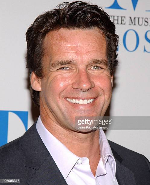 David James Elliott during The Museum of Television Radio Honors Leslie Moonves and Jerry Bruckheimer Arrivals at Regent Beverly Wilshire Hotel in...