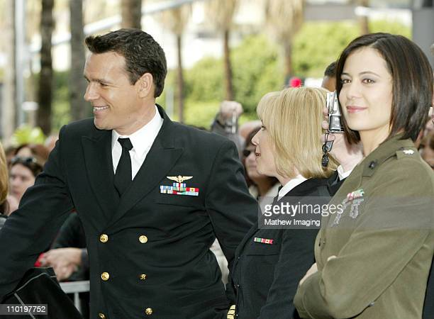 David James Elliott Karri Turner and Catherine Bell