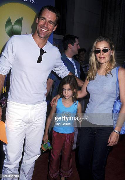 David James Elliott Nanci Chambers and daughter Stephanie