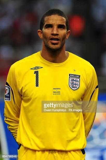David James, England goalkeeper