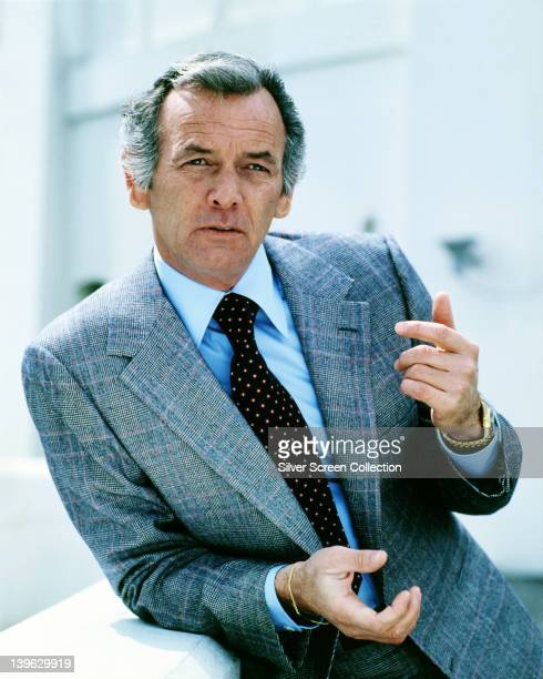 David Janssen US actor in a publicity portrait issued for the US television series 'Harry O' USA circa 1975 The crime drama starred Janssen as 'Harry...
