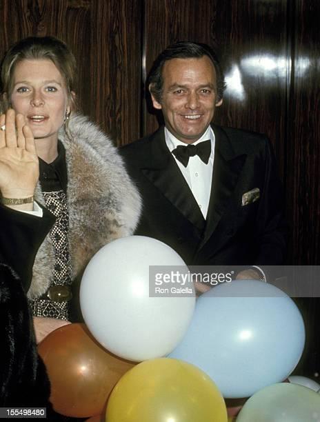 David Janssen with girlfriend Rosemary Forsyth