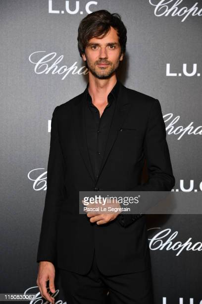 David Jarre attends Chopard's The Gentleman's Evening At The Hotel Martinez at Hotel Martinez on May 21 2019 in Cannes France