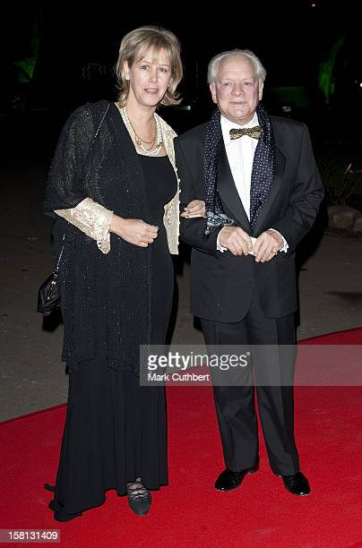 David Jason And Gill Hinchcliffe Arrive At The Sun Military Awards 'A Night Of Heroes' At The Imperial War Museum London