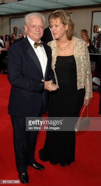 David Jason and Gill Hinchcliffe arrive for the TV Baftas at the Grosvenor House Hotel in central London