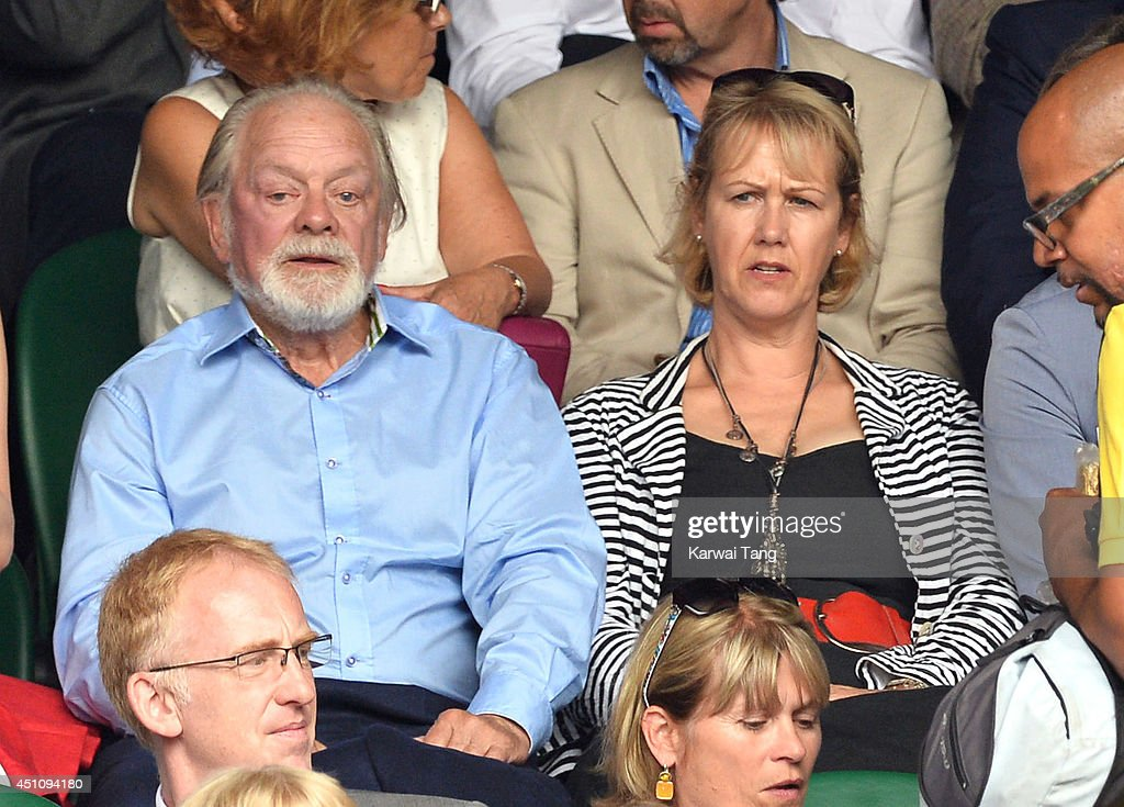 Celebrities Attend The Wimbledon Championships