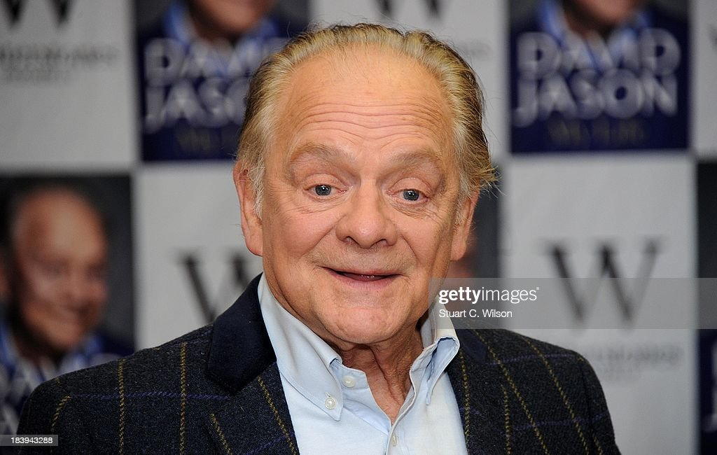 David Jason - Book Signing : News Photo