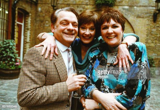 David Jason, Nicola Paggett and Gwen Taylor in comedy series 'A Bit of a Do'. 27th January 1989.
