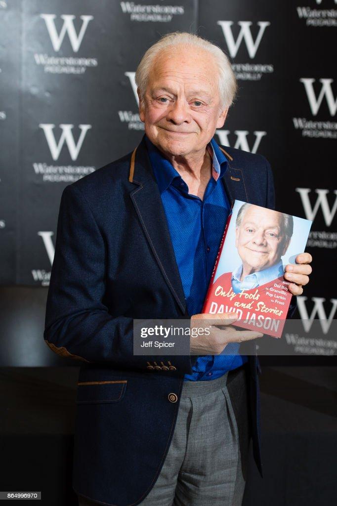 David Jason Book Signing