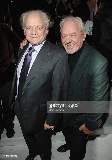 David Jason with brother Arthur White during Terry Pratchett's 'Hogfather' TV Premiere Inside at Curzon Mayfair in London United Kingdom