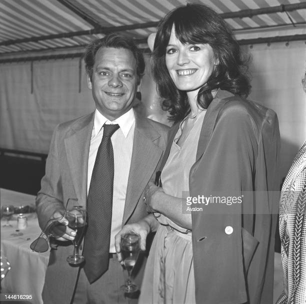 David Jason with Judy Loe in June 1981