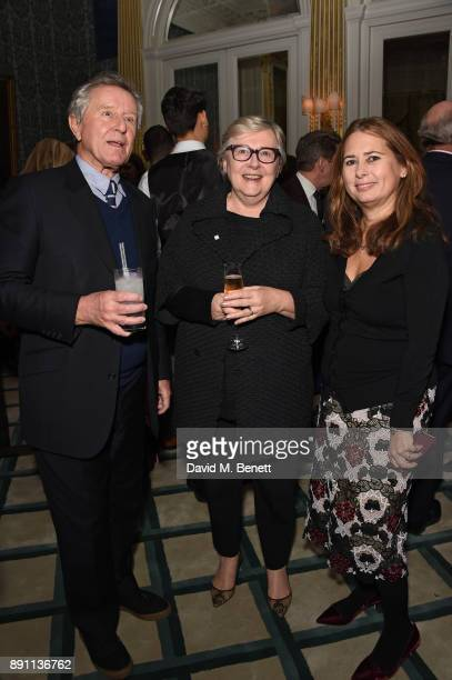 David Jenkins Jane Quinn and Alexandra Shulman attend Stephen Quinn's leaving drinks as he retires from his position as Publishing Director of...