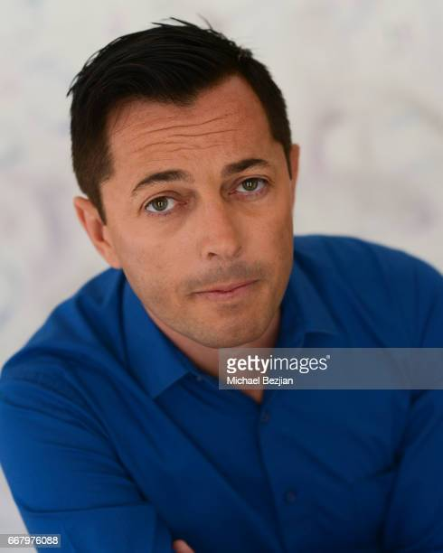 David Jimenez poses for portrait at The Artists Project on April 12 2017 in Los Angeles California