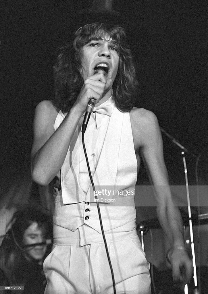 David Johansen of New York Dolls performs on stage at the ...