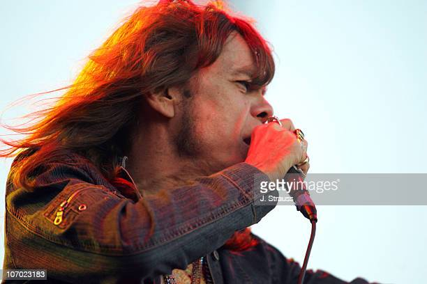 David Johansen of the New York Dolls during 2006 San Diego Street Scene Day 2 at Qualcomm Stadium in San Diego California United States