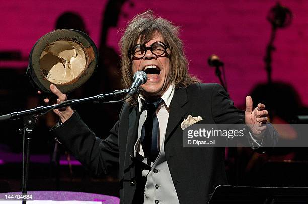 David Johansen performs at the Jazz Foundation of America Celebrates A Great Night In Harlem at The Apollo Theater on May 17, 2012 in New York City.