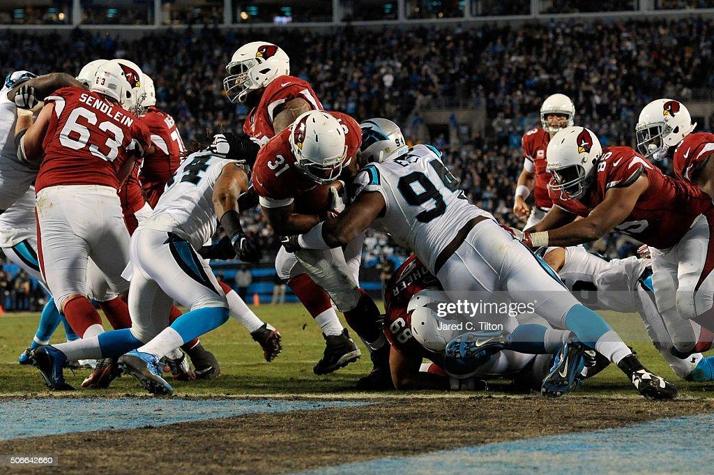 NFC Championship - Arizona Cardinals v Carolina Panthers