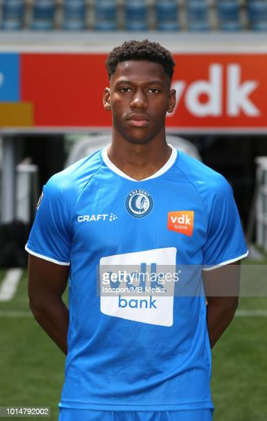 David Jonathan pictured during the 2018 - 2019 season photo shoot of Kaa Gent on July 16, 2018 in Ghent, Belgium.
