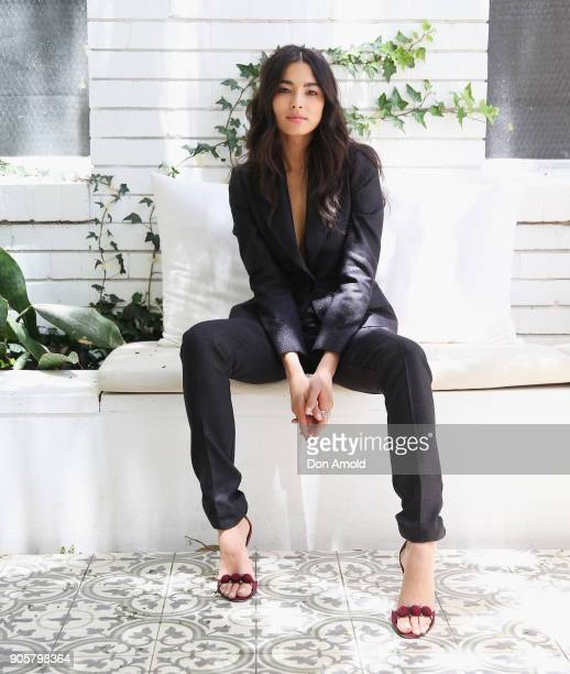 David Jones Ambassador Jessica Gomes posesat the model casting for the David Jones Autumn Winter 18 Collections Launch on January 17 2018 in Sydney...