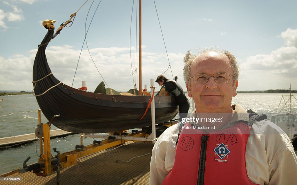 Historian Proves Design Of Bayeux Tapestry Longboats : News Photo