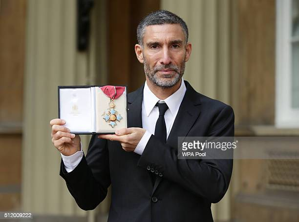 David Joseph Chairman and CEO of Universal Music UK and Ireland is made a CBE by the Prince of Wales during an Investiture ceremony at Buckingham...