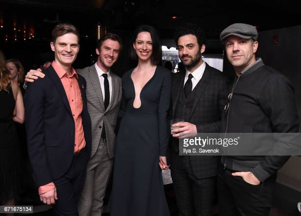 David Joseph Craig Dan Stevens Rebecca Hall Morgan Spector and Jason Sudeikis attend the After Party for Permission Sponsored by Heineken during 2017...