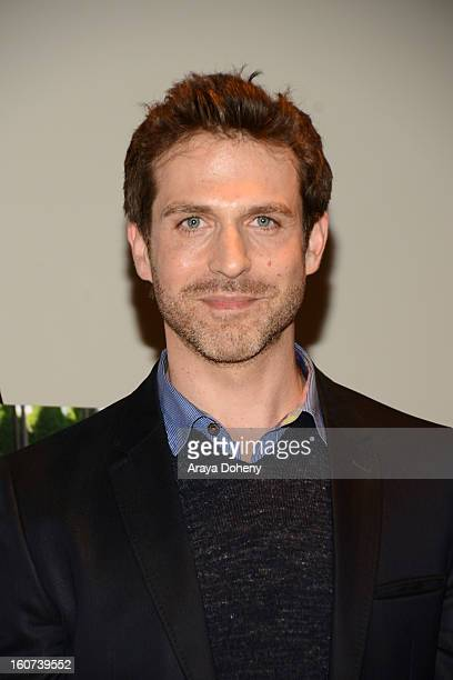 David Julian Hirsh arrives at the world premiere screening of Twist Of Faith at Stephen S Wise Temple on February 4 2013 in Los Angeles California