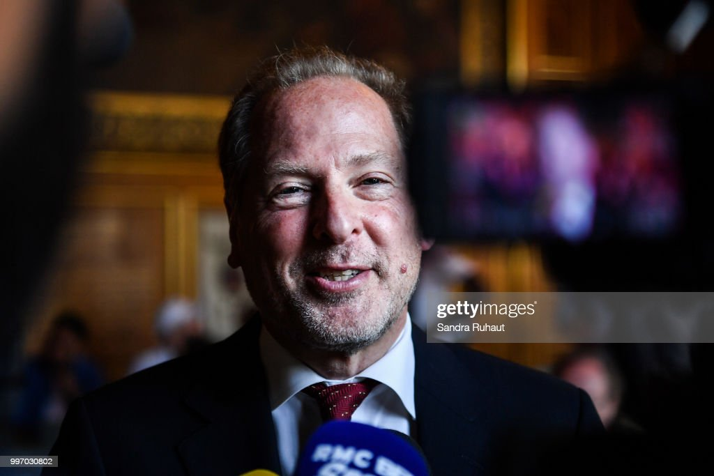 David Kahn, CEO of Paris Basketball Investments, during the press conference of Paris Basket Avenir on July 12, 2018 in Paris, France.