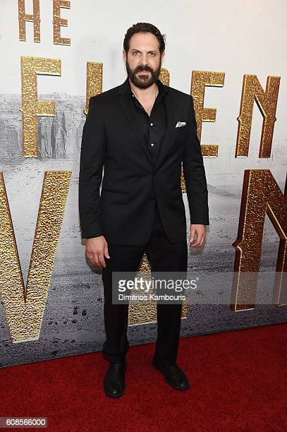 David Kallaway attends The Magnificent Seven premiere at Museum of Modern Art on September 19 2016 in New York City
