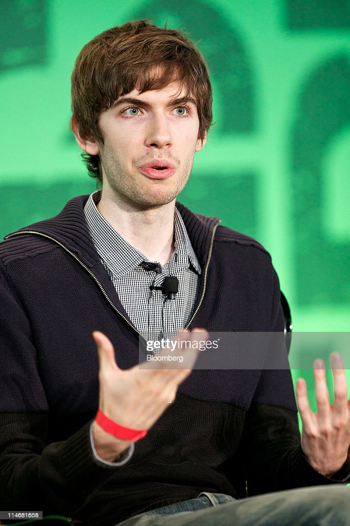David Karp, a co-founder of Tumblr Inc., speaks during an interview at the TechCrunch Disrupt NYC 2011 conference in New York, U.S., on Tuesday, May 24, 2011. The summit brings together leaders from various tech fields to discuss how the internet is disrupting industry after industry, from media and social commerce to payments and transportation. Photographer: Guy Calaf/Bloomberg via Getty Images