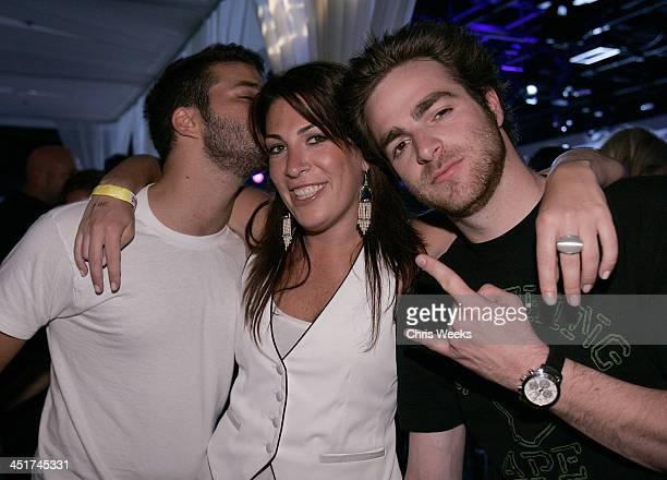 David Katzenberg Jessica Meisels and DJ Jon Alagem