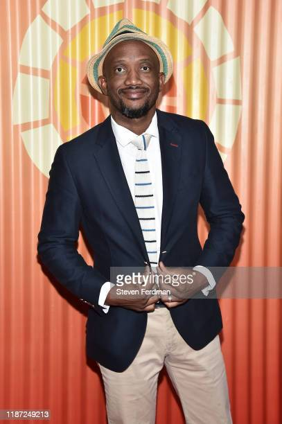 David Kau attends the Africa Outreach Project Fundraiser hosted by Charlize Theron at The Africa Center on November 12 2019 in New York City