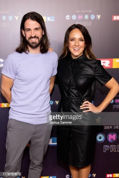 David Kebekus and Carolin Kebekus attend the 23rd annual German Comedy Awards at Studio in Köln Mühlheim on October 02 2019 in Cologne Germany