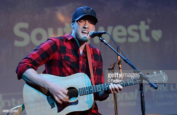 David Keiffer of Life of Dillon performs at The Uptown Theatre during Day 3 of the 2015 Live in the Vineyard Music Food and Wine Festival on March 28...