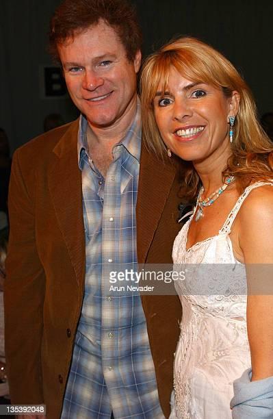David Keith and Julia Verdin during MercedesBenz Fall 2005 LA Fashion Week at Smashbox Studios Meghan Front Row at Smashbox Studios in Culver City...