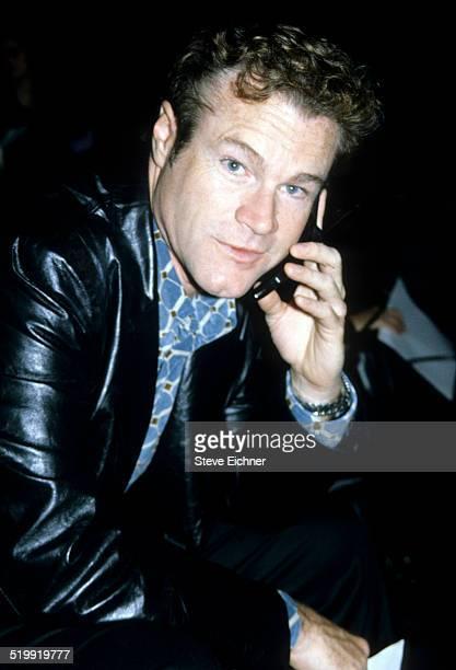 David Keith at Marc Jacobs fashion show New York November 3 1997