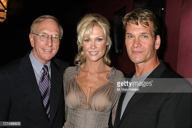 David Kenin Alison Doody Patrick Swayze during VIP Screening of King Solomon's Mines at The Tribeca Grand Hotel in New York New York United States