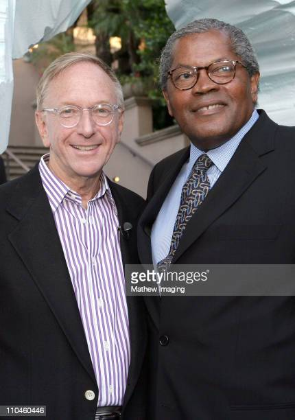 David Kenin EVP Programming Hallmark Channels and Clarence Williams