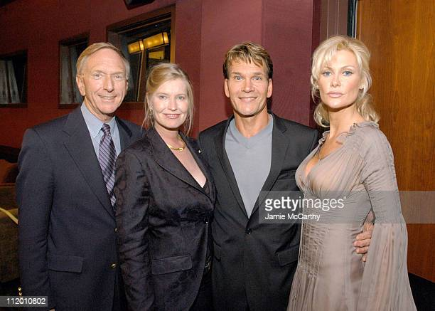 David Kenin Lisa Nieni Patrick Swayze and Alison Doody