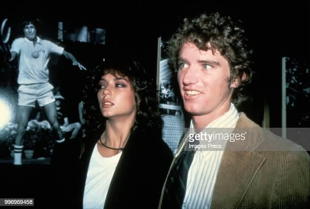 David Kennedy and Rachel Ward circa 1984 in New York