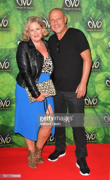David Kennedy attends the Cirque Du Soleil's OVO Premiere at The Liverpool Echo Arena on August 16 2018 in Liverpool England