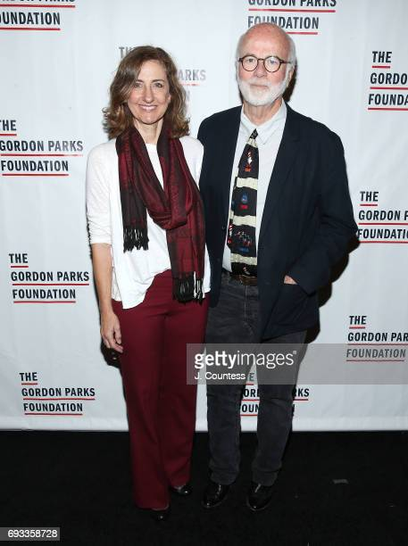 David Kennerly and Rebecca Kennerly attend the 2017 Gordon Parks Foundation Awards Gala at Cipriani 42nd Street on June 6 2017 in New York City