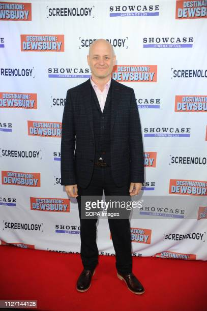 David Keogh seen during the Destination Dewsbury UK premiere A premiere of a new British comedy about five friends who reunite for one last road trip...