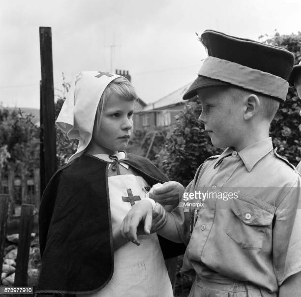 David Kilgour aged 8 who wants to be a soldier seen at his home in Mochdre Colwyn Bay with the regular members of his army Pictured are Sandra...