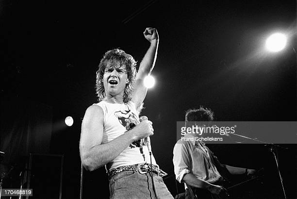 David Killingsworth from American group The Tubes performs live on stage at Tivoli in Utrescht, Netherlands on 19th November 1987.